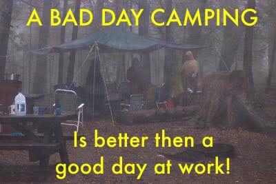 We have all had these camping days! #campingaustralia #camping #baddaycampingstillbetterthanagooddayatwork #campingweather #campingwet @campingworld @camping