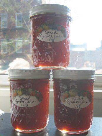 Spiced Quince Jam Recipe - Food.com