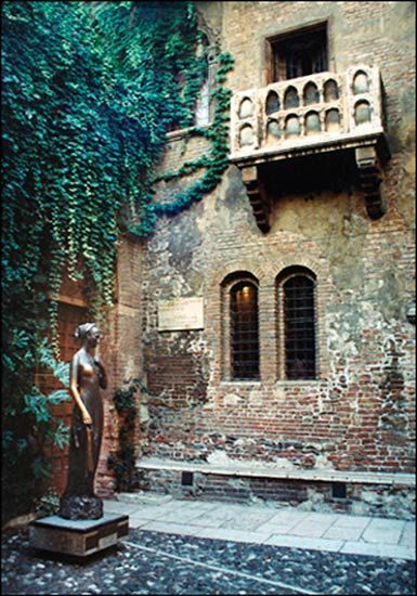Juliet's House in Verona, Italy.