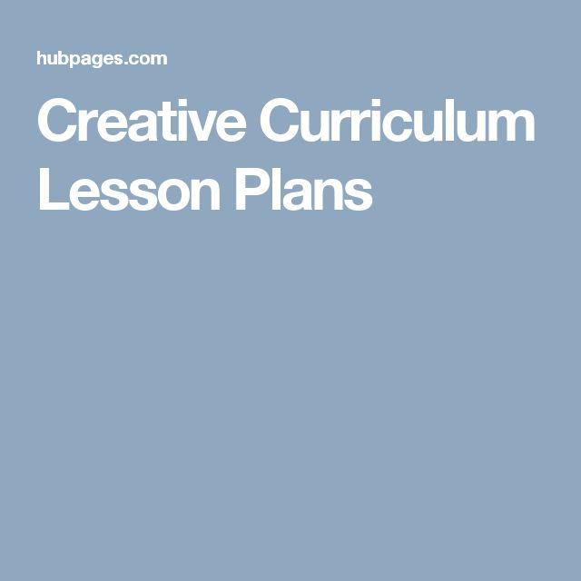 Creative Curriculum Lesson Plans                                                                                                                                                                                 More