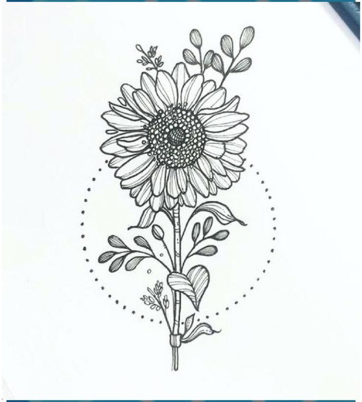 How to draw a bunch of sunflowers bouquet by van gogh
