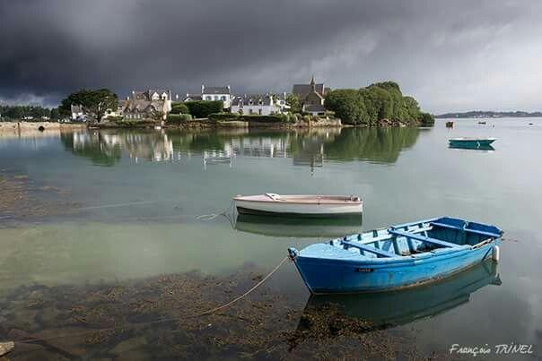 L'île de Saint-Cado (Belz)