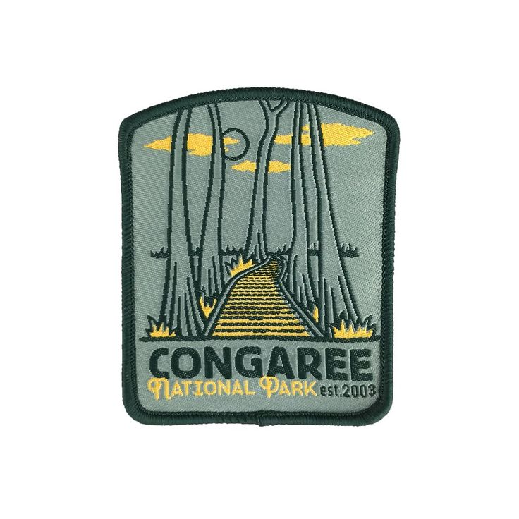 Congaree National Park Patch National park patches
