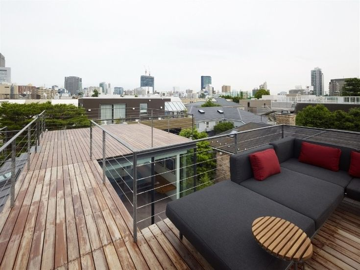 13 best Roof Decks images on Pinterest | Gardens, Roof terraces ...