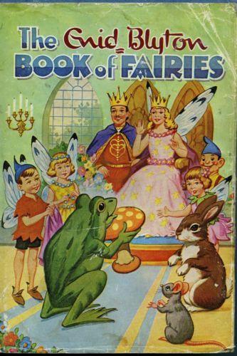 The-Enid-Blyton-Book-of-Fairies-FREE-AUS-POST-Used-Vintage-Illustrated-Hardback  www.sleepybearbooks.com