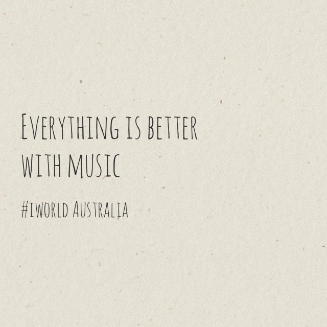 Music just makes everything better 🎤💃🎼