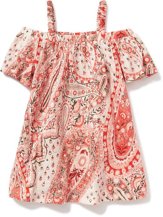 Off-The-Shoulder Dress for Baby Product Image