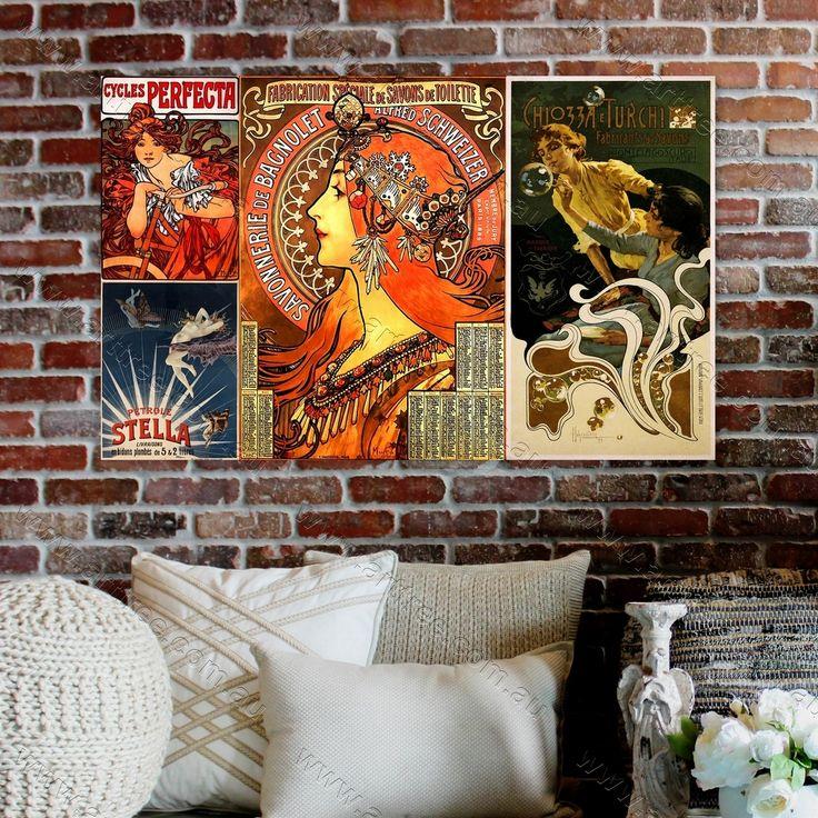 living room art prints%0A CHIOZZA E TURCHI Vintage Poster Photo Collage