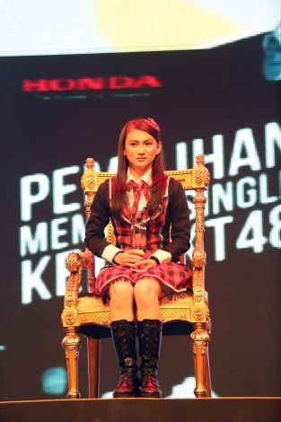 the untouchable .. Melody JKT48 #1StSousenkyo #JKT48