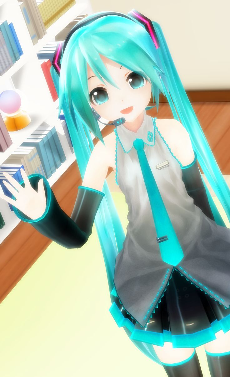 3d mmd hatsune miku loses her gym clothes in girls 9