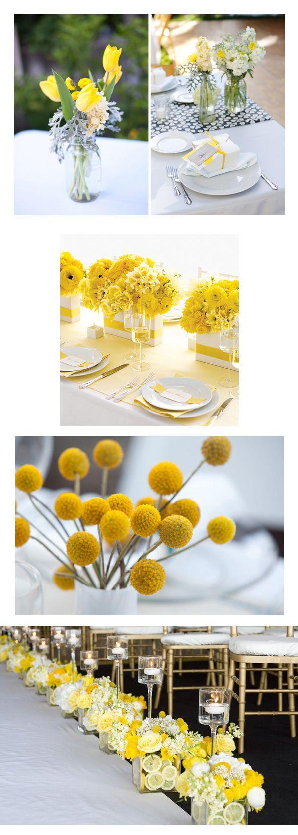 1000 idées sur le thème mariages gris jaune sur pinterest ...