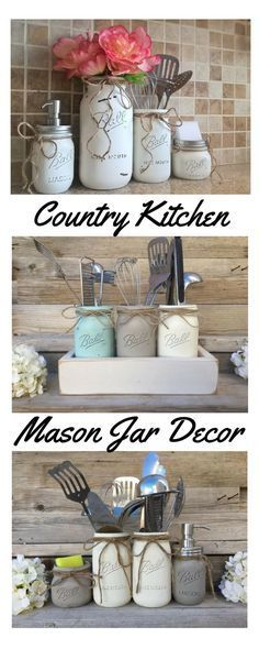 mason jars and box are handmade from start to finish and are painted rh pinterest at