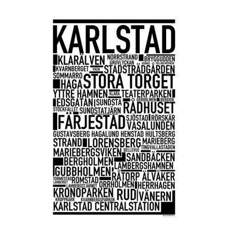 Karlstad Poster