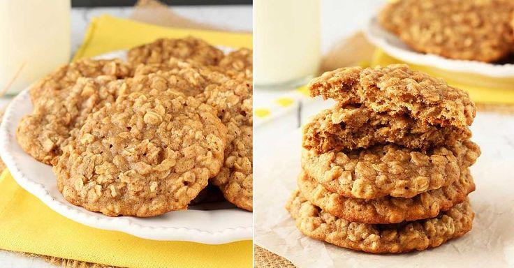 ovesné sušenky s vůní skořice.