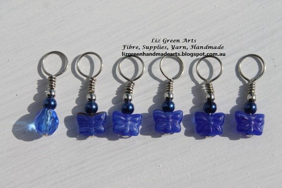 Hey, I found this really awesome Etsy listing at https://www.etsy.com/listing/244256216/handmade-stitch-markers-for-knitting-set