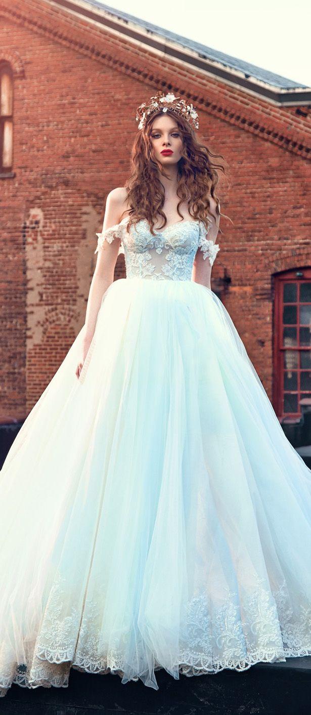 galia lahav spring 2016 bridal dresses off the shoulder sweetheart neckline corset emebroidered bodice wedding ball gown dres cinderella