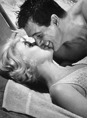 Doris Day and Rock Hudson. These two were iconic movie lovers, although in real life Hudson preferred the opposite sex. Still their movies never fail to warm my heart and make me smile!! Lol