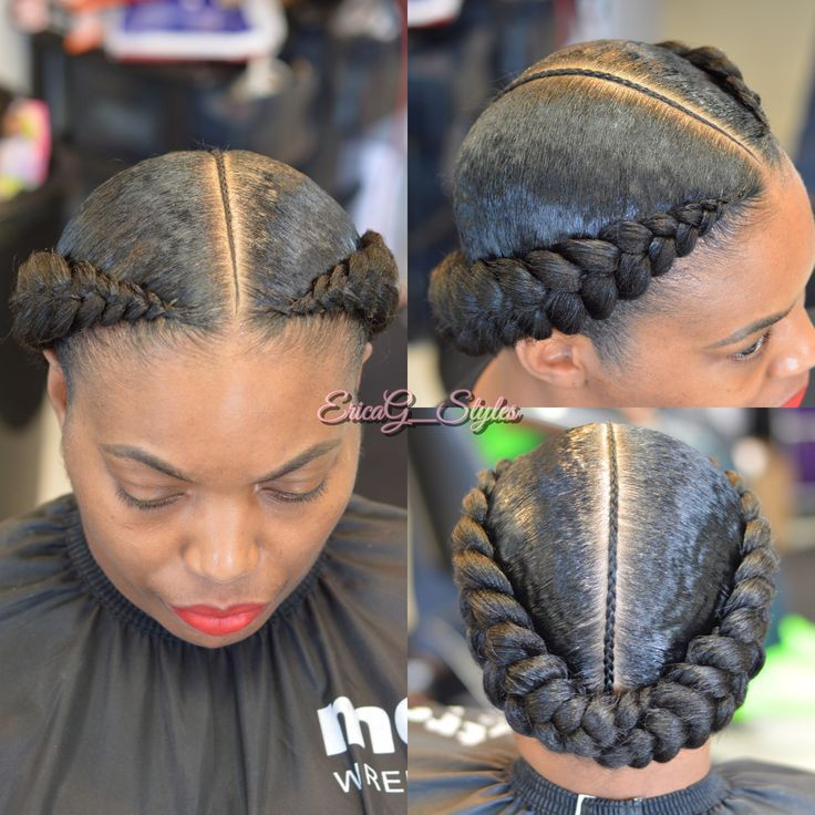 Black girl fishtail braid hairstyles kids