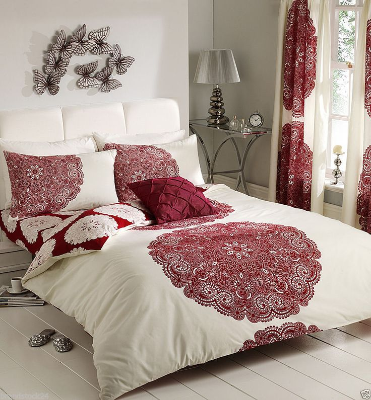 Bedroom Curtains and Matching Bedding - Decorating Wall Ideas for Bedroom Check more at http://grobyk.com/bedroom-curtains-and-matching-bedding/