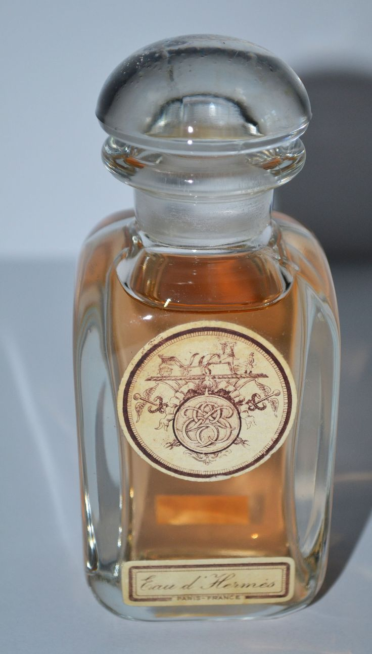 Eau D Herm 233 S Parfum By Herm 233 S Perfume Bottles Vintage