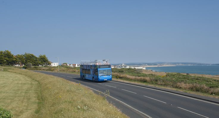 Hop on board the New Forest Tour Blue Route. The Blue Route is your gateway to the beautiful beaches and coastal scenery of the south west of the New Forest National Park