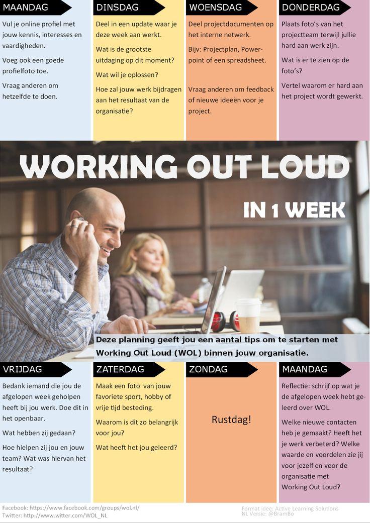 Agenda Working Out Loud in 1 week