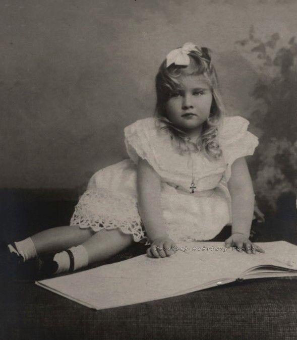 Princesse Marie de Roumanie (1900-1961) fille du roi Ferdinand 1er et de la princesse Marie de Saxe-Cobourg-Gotha. Future reine de Yougoslavie
