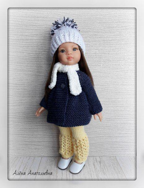 Вязаная одежда для кукол/Описания/