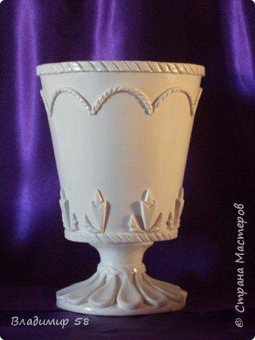 Настольная ваза  на рабочий стол. фото 1