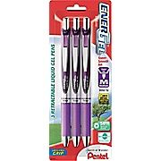 Buy Pentel® EnerGel RTX® Retractable Gel-Ink Pens, Medium Point, Violet, 3/Pack at Staples' low price, or read customer reviews to learn more.