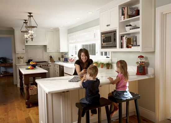 Kitchen Peninsula Design, Pictures, Remodel, Decor And Ideas   Page 19