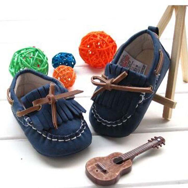 Cool #Boy #Toddler #Shoes Royal Blue Tassel Peas Soles Skid Light Cotton  Fabric