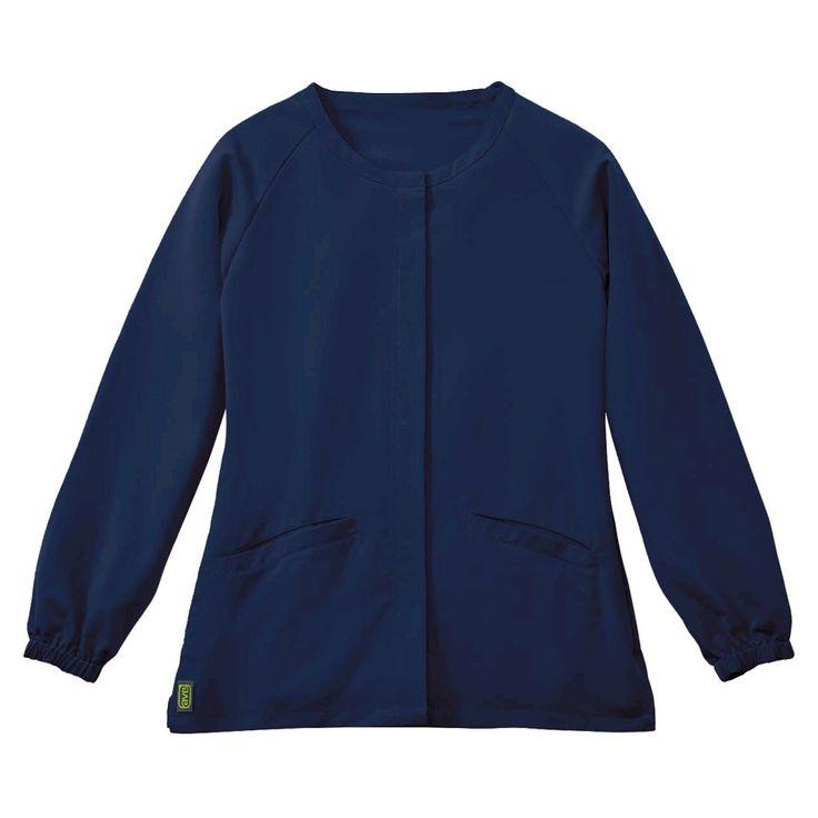 Addison Ave Scrub Jacket Navy Blue X-small