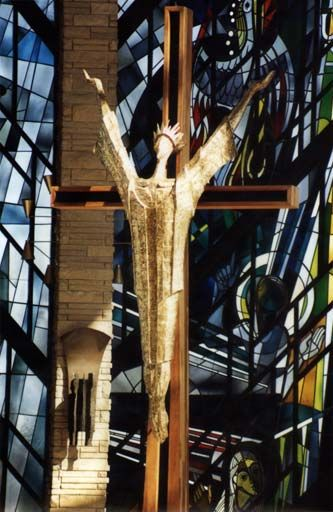 Christus Rex, Chapel of the Resurrection, Valparaiso University, Valparaiso, IN