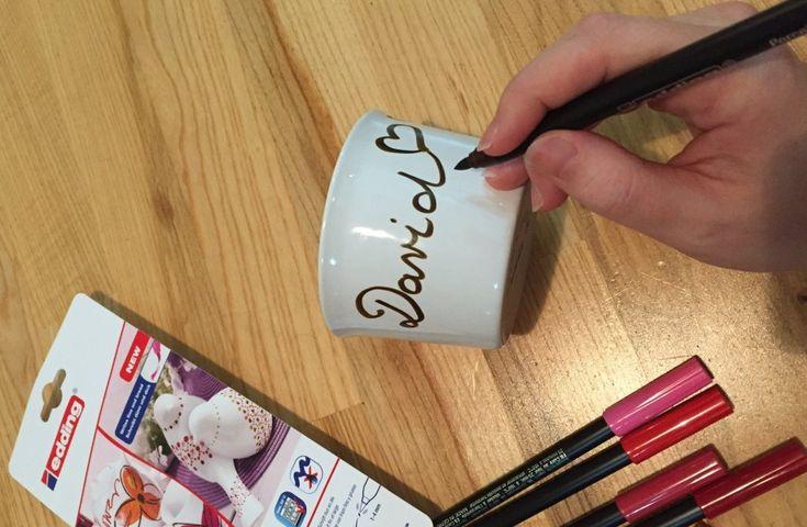 Malování na porcelán + 9 tipů, co namalovat / How to paint porcelain