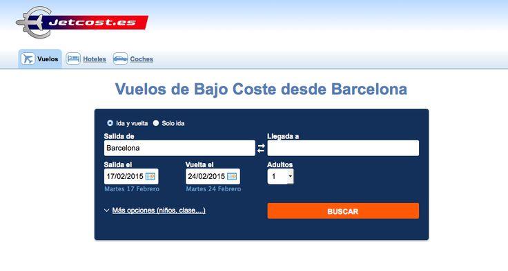 Paginas vuelos baratos  http://www.jetcost.es/Buscador-vuelos/Vuelo-desde-Barcelona.html