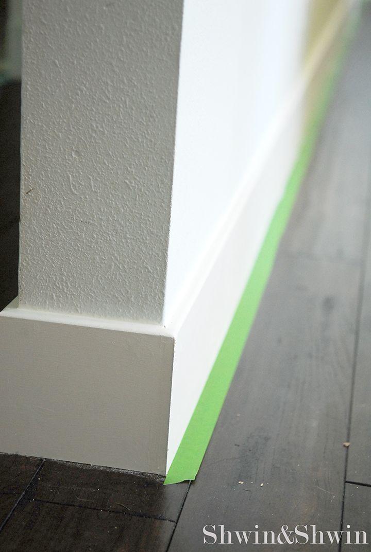 Baseboard - square edge