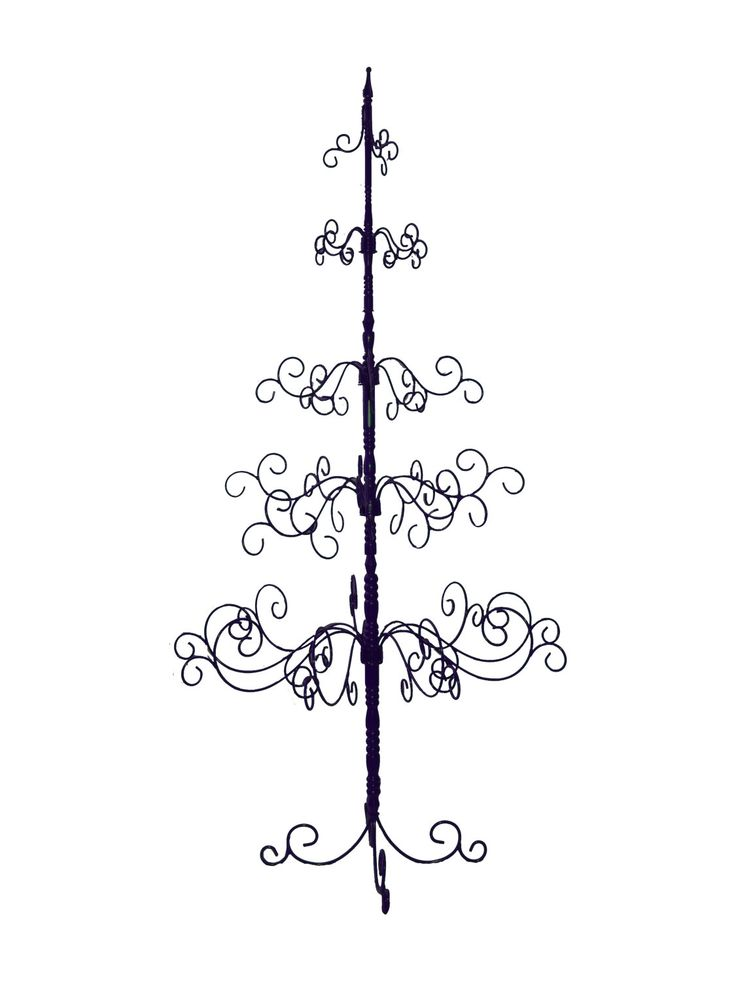 13 best wrought iron christmas tree images on pinterest. Black Bedroom Furniture Sets. Home Design Ideas