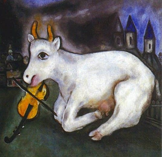 chagall paintings | bensozia: Marc Chagall's Magical Animals