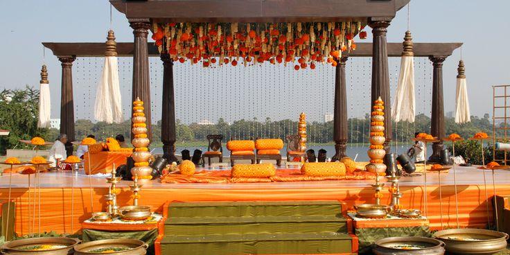 Wedding mandaps I Designer weddings I Dreamzkraft weddings