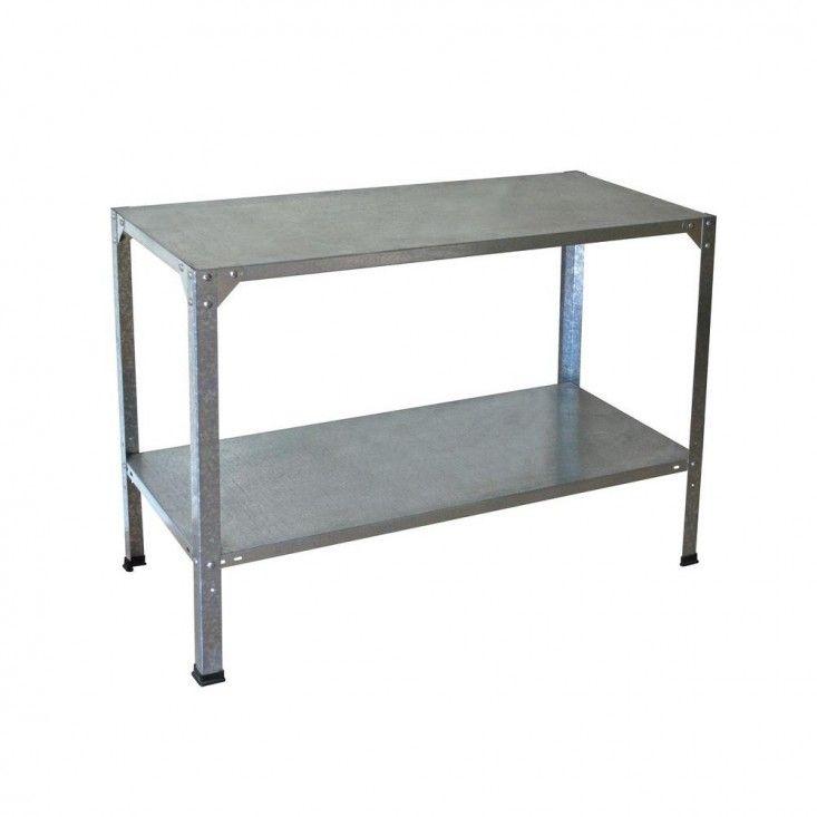 Home Depot steel-work-bench-gardenista/ $96.00