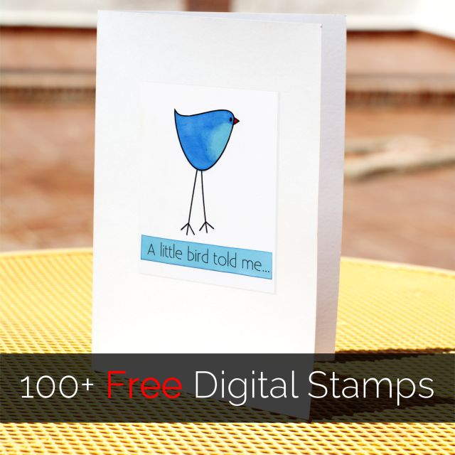 Learn All About Digital Stamps and How to Use Them: Digital stamping opens up a whole range of opportunities. Look for free digital stamps to get started!