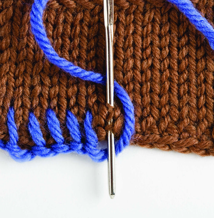 Kara's Quick-Knit Tip: The Versatile Blanket Stitch. The Blanket Stitch is a quick and easy way to create a decorative and rustic edge for a cuff, collar or a hem edge. It's also a great way to dress up swatches and turn them into coasters. Simply thread some yarn onto your tapestry needle, and follow my simple steps on http://www.SplendidSticks.com