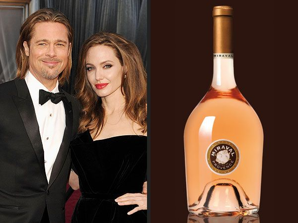 Angelina Jolie, Brad Pitt Releasing Wine; Miraval Wine Due Out in March (People Magazine)