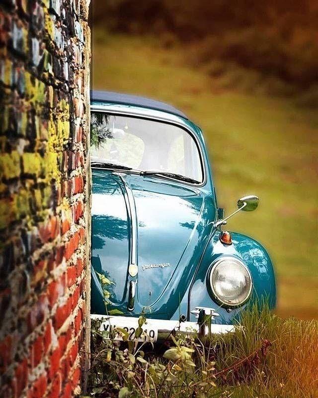 Volkswagen hiding.