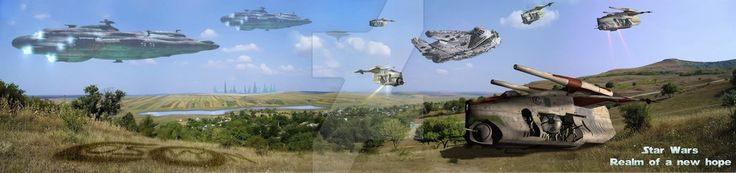 19 Star Wars - Realm of a new Hopes by cosovin.deviantart.com on @DeviantArt