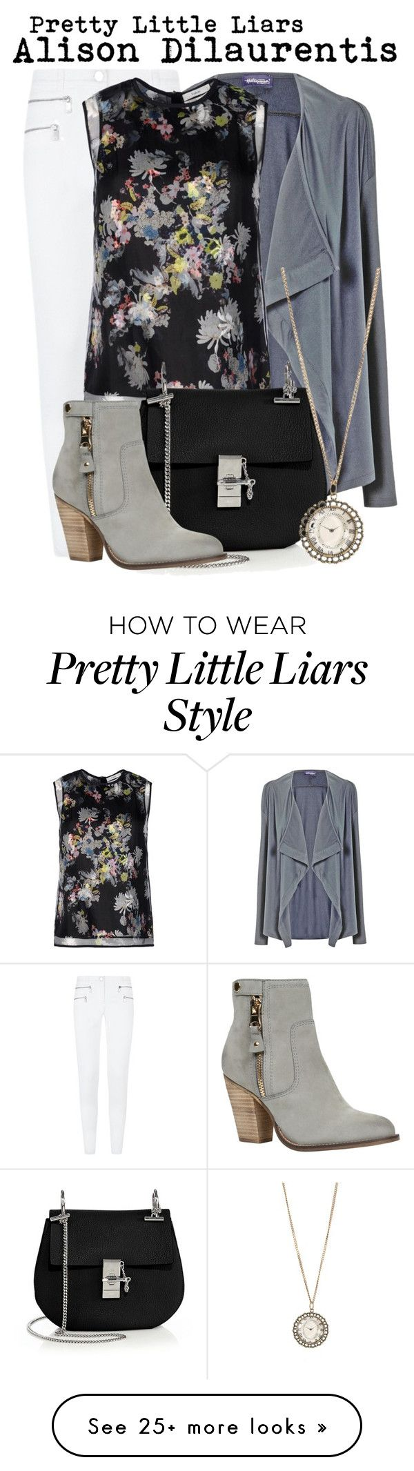 """Pretty Little Liars- Alison Dilaurentis"" by darcy-watson on Polyvore featuring HotSquash, Michael Kors, Erdem, Chloé, ALDO and Aéropostale"