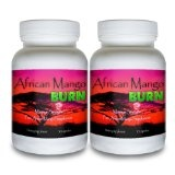 African Mango Burn (2 Bottles) - The Ultimate African Mango Fat Burning Supplement. Pure Irvingia Gabonensis Weight Loss, Appetite Suppressing Diet Pill (Health and Beauty)By African Mango Burn