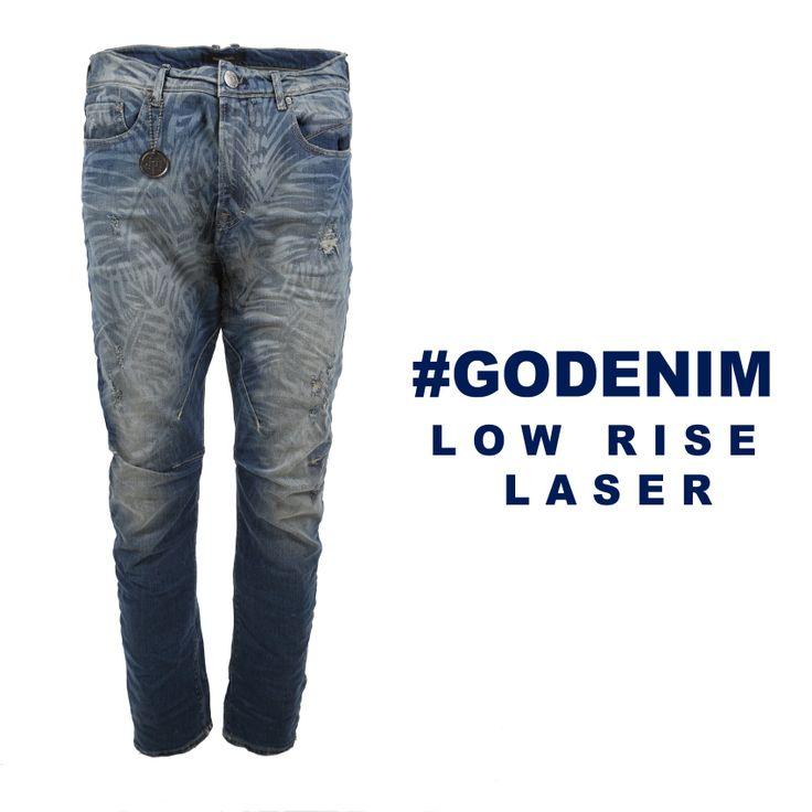 #godenim low rise laser