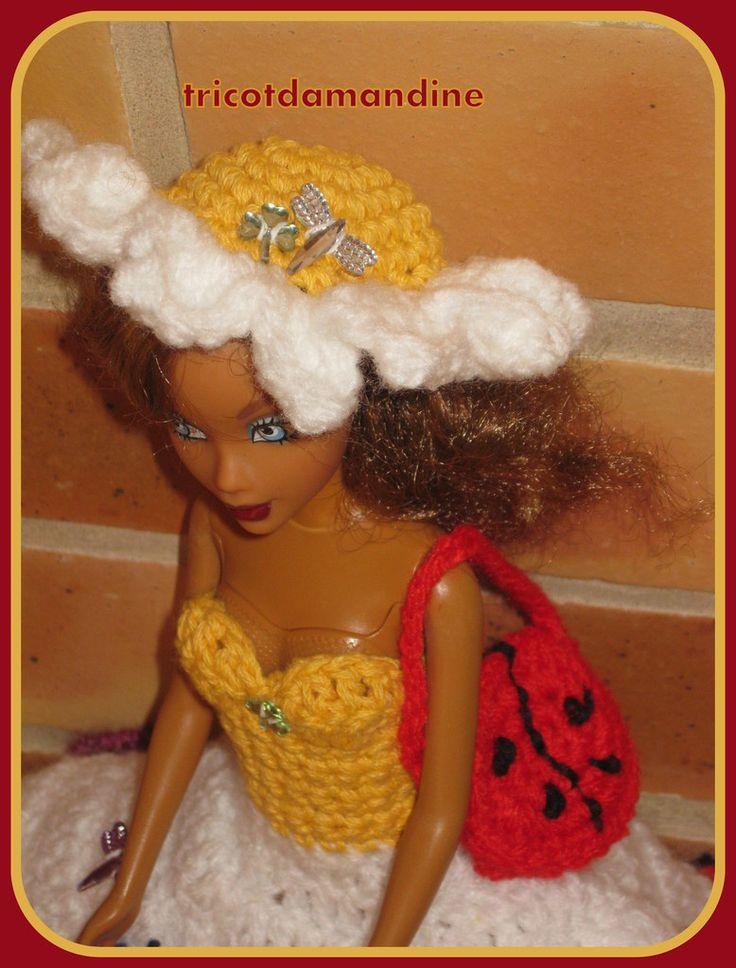 Une jolie tenue de barbie ...